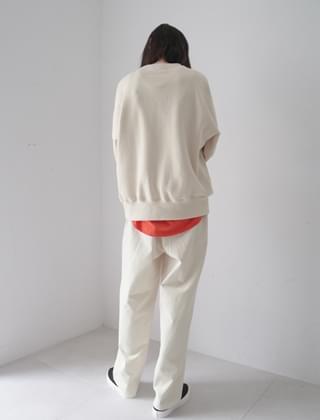 sturdy cotton pants (3colors)