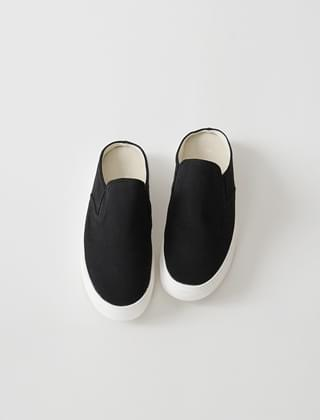 casual silhouette mule sneakers (3colors)