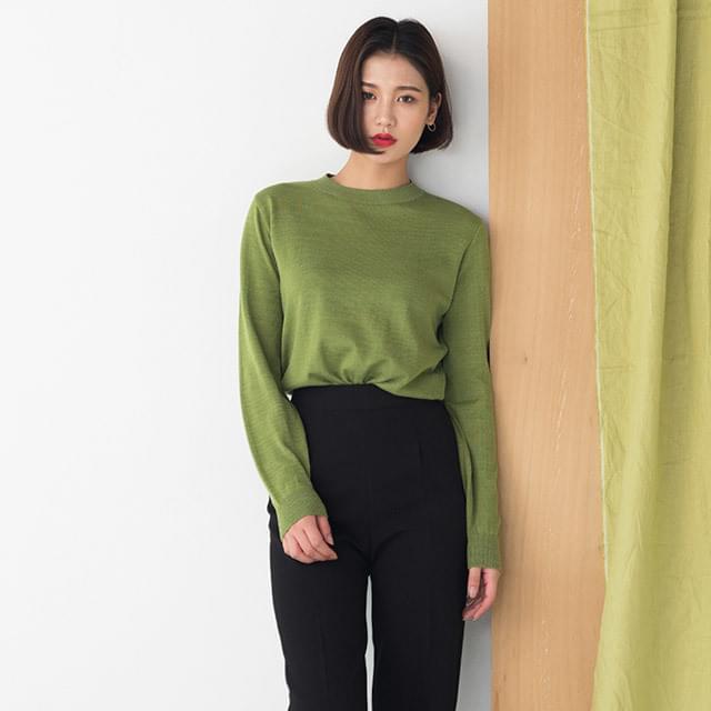 8 colors standard fit knit