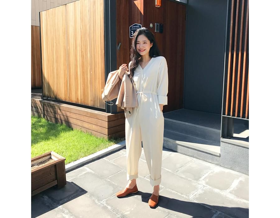 Sunset over jumpsuit_M (size : free)