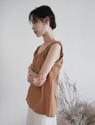 lovable shirring sleeveless (3colors)
