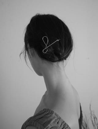 pliable thin hairpin (2type)
