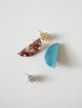 night sky earrings (2colors)