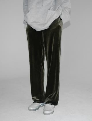 velvet standard slacks (2colors)