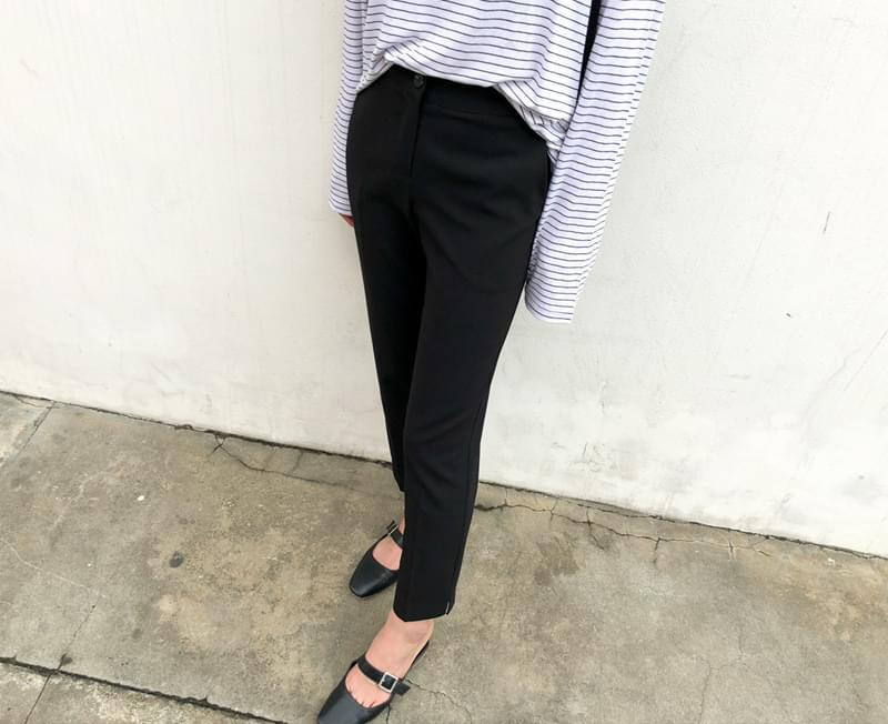 Slim Fit Date Slacks