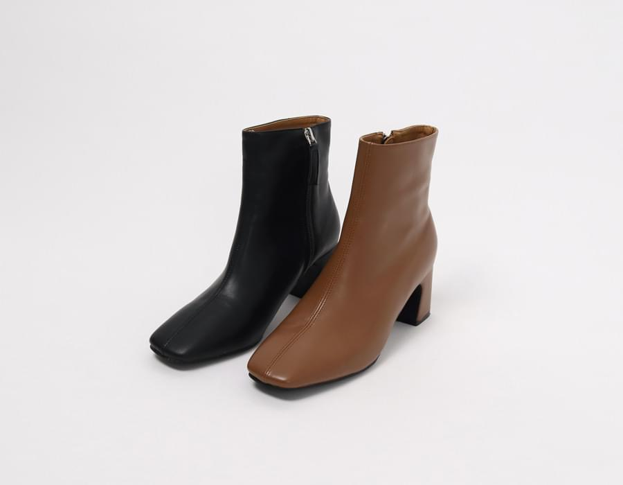 Middle line leather boots_M (size : 225,230,235,240,245,250)