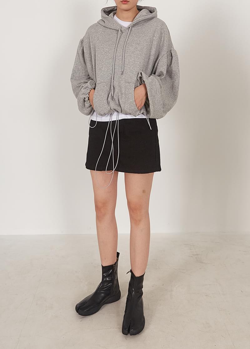 Powder mini skirt