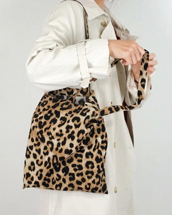 Leopard Hopi Eco Bag 2color Canvas