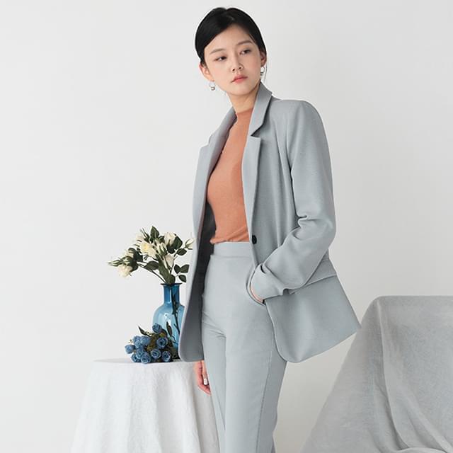 gentle standard fit jacket