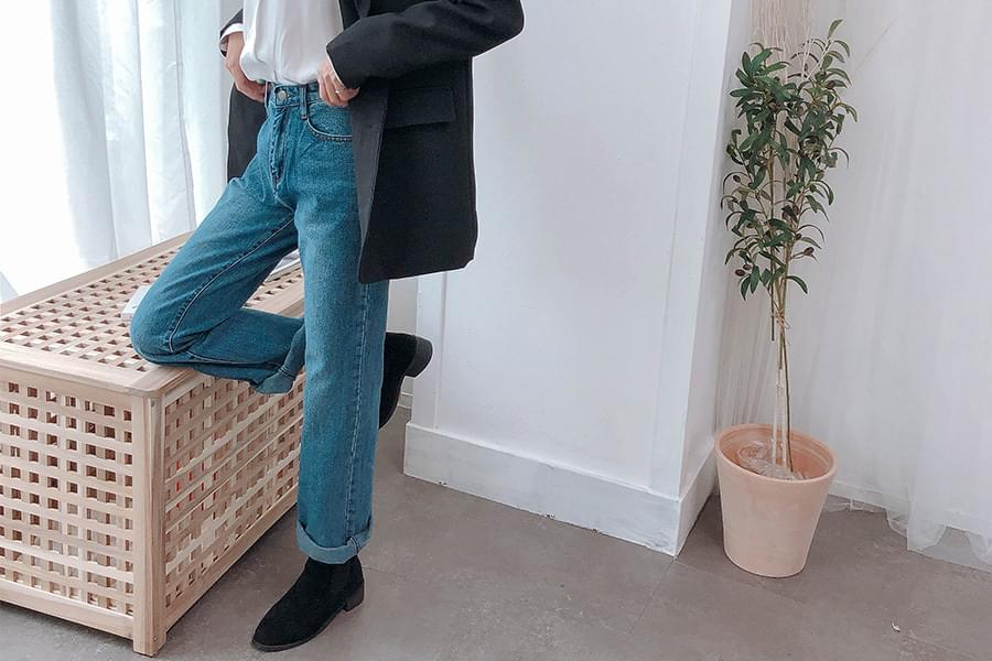 Roll-up ferry wide pants