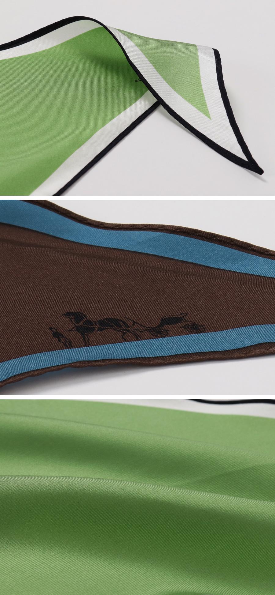 Mia silk scarf_B (size : one)