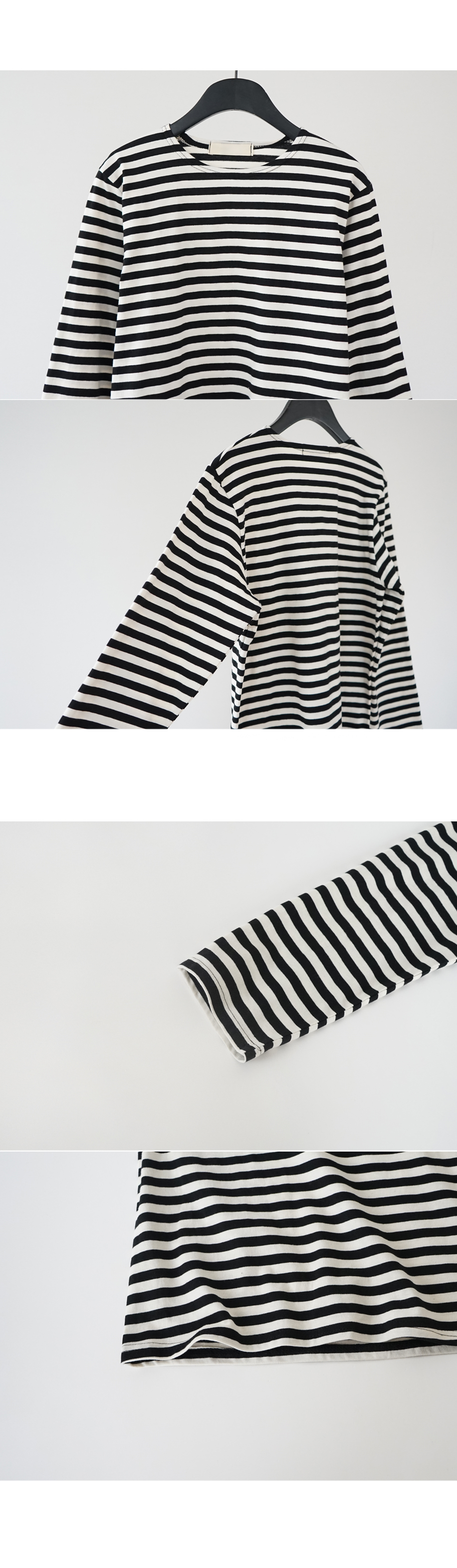 steady stripe tee (3colors)
