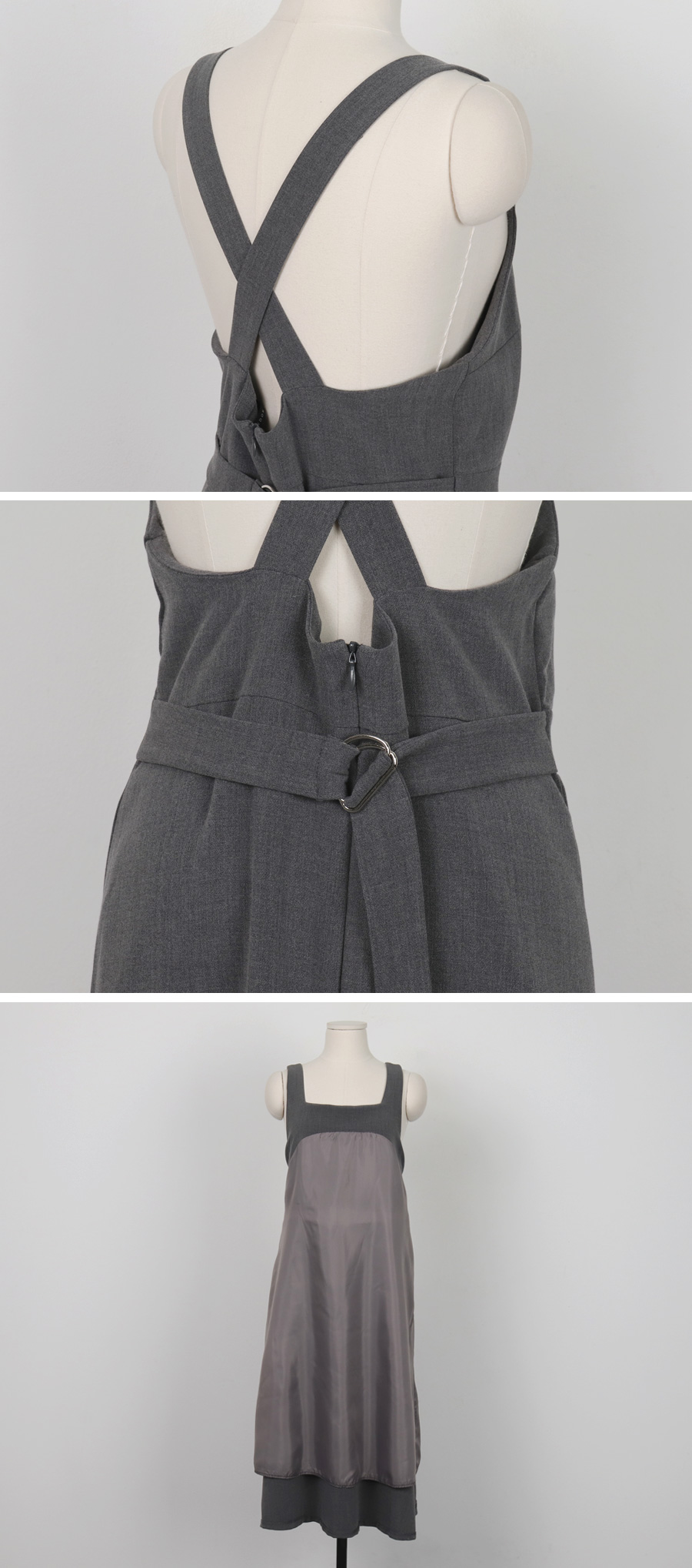 Moment x-strap overall ops_H (size : free)