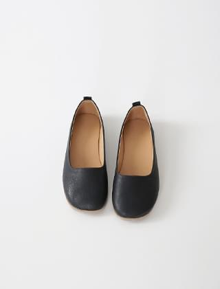 chunky toe flat shoes (3colors)