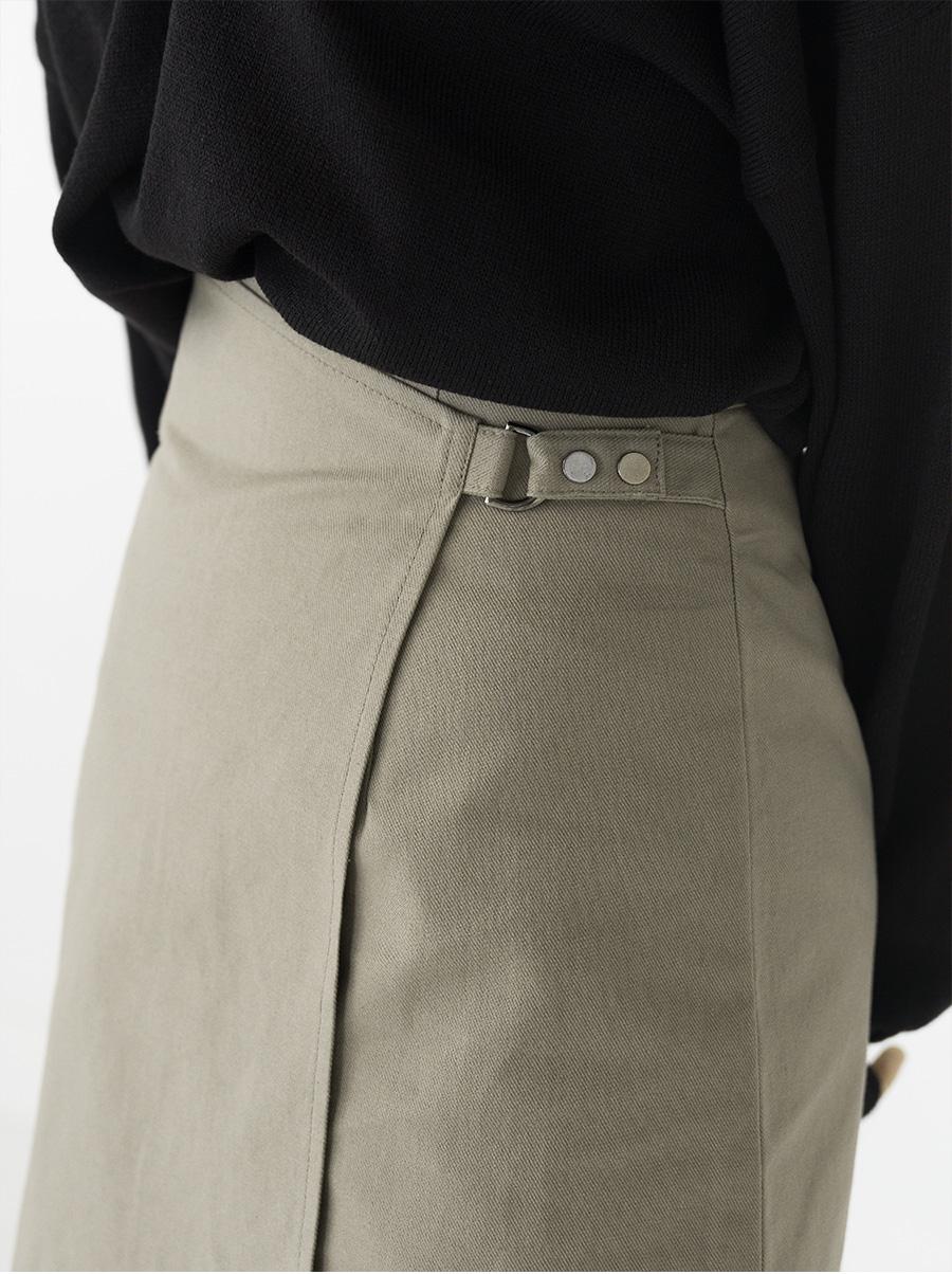 standard mini wrap skirt