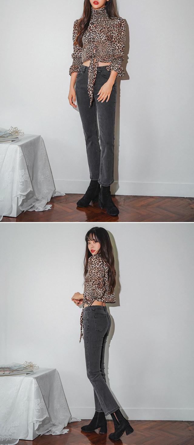 Mango boots cut pants