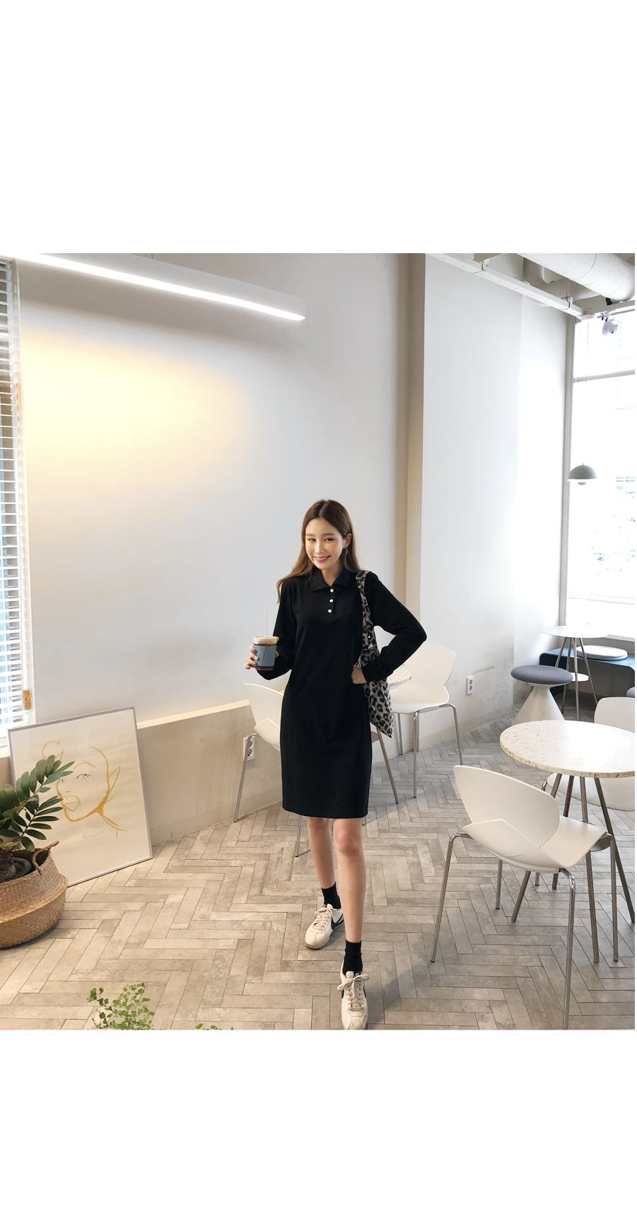 Basic color dress