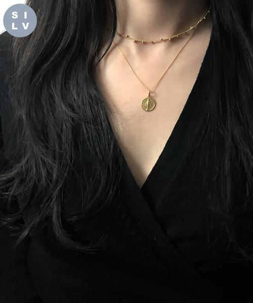 (silver925) here necklace