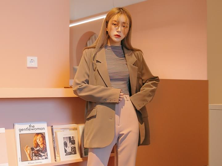 [OUTER] WEAR SIMPLE OVER FIT JACKET