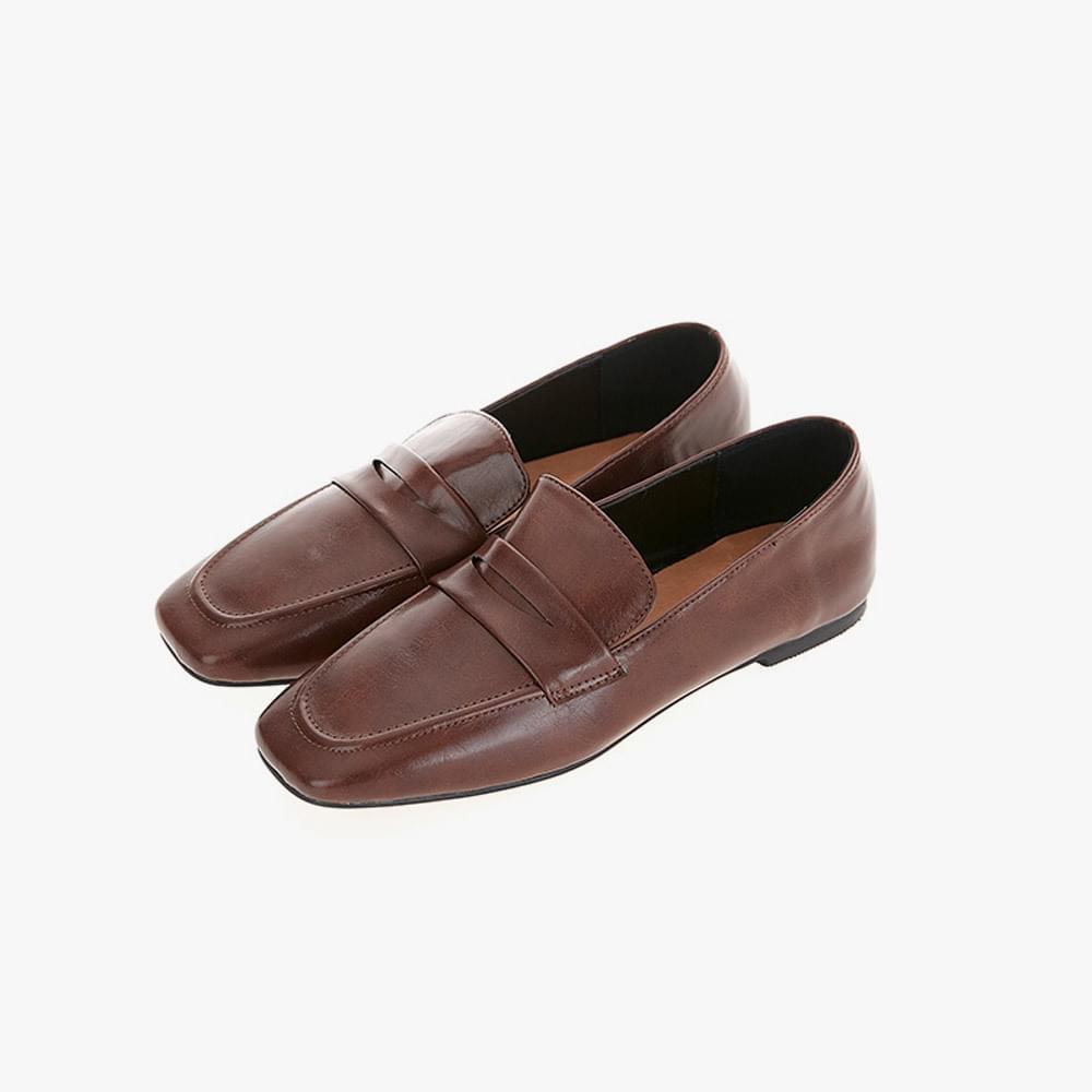 Morning Dan enamel loafers