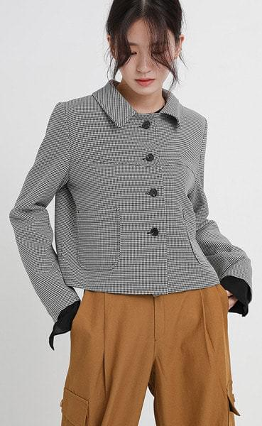 favorit crop jacket (2colors)