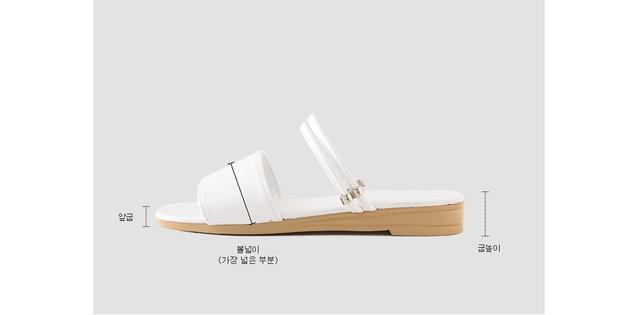 Telle sandals & slippers 2.5cm