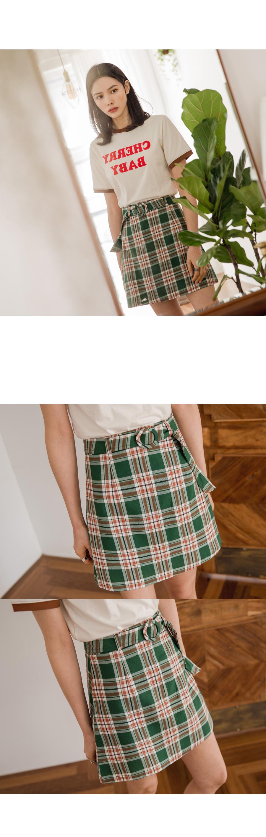 Cherry short-sleeved tee