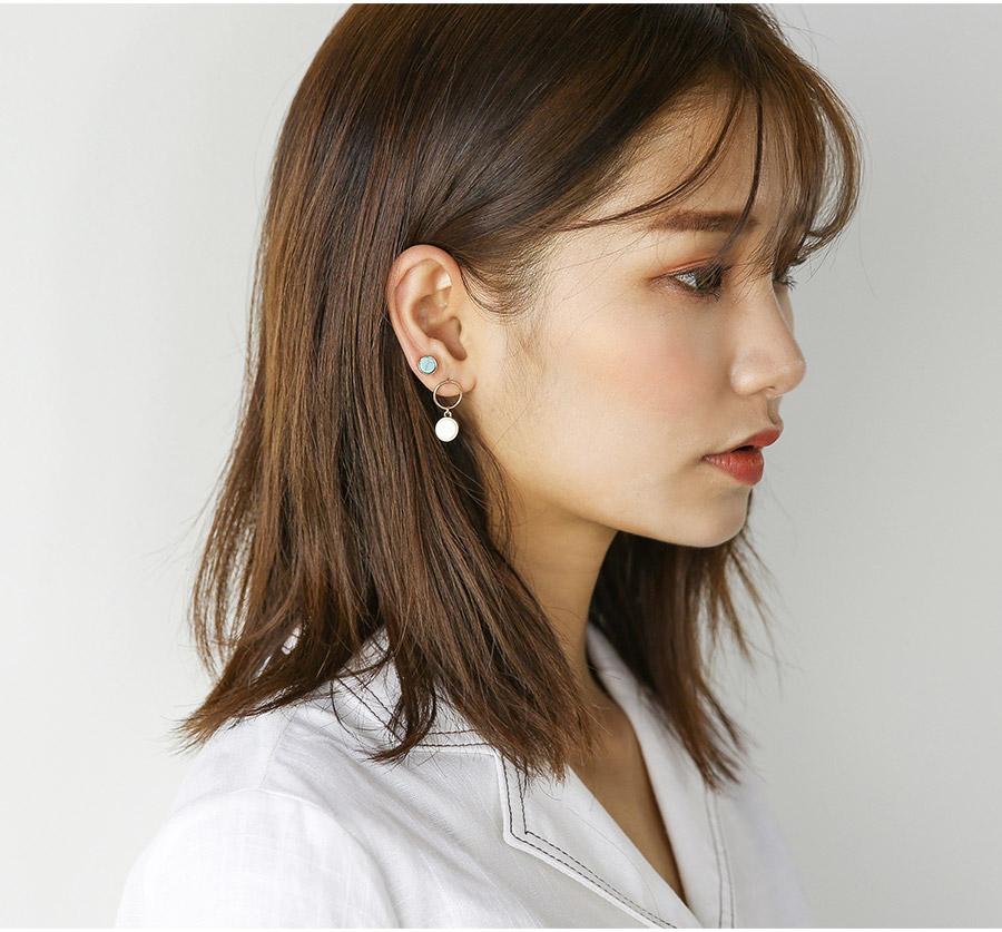 exotic earring set