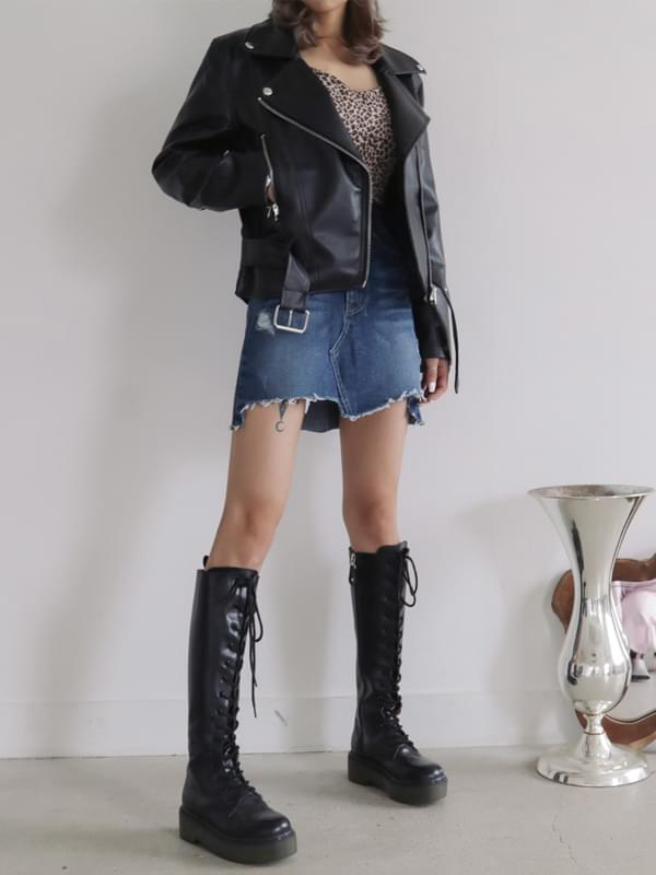 Trendy Short Rider Jacket
