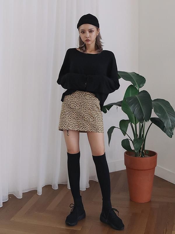 Catch Leopard Skirt