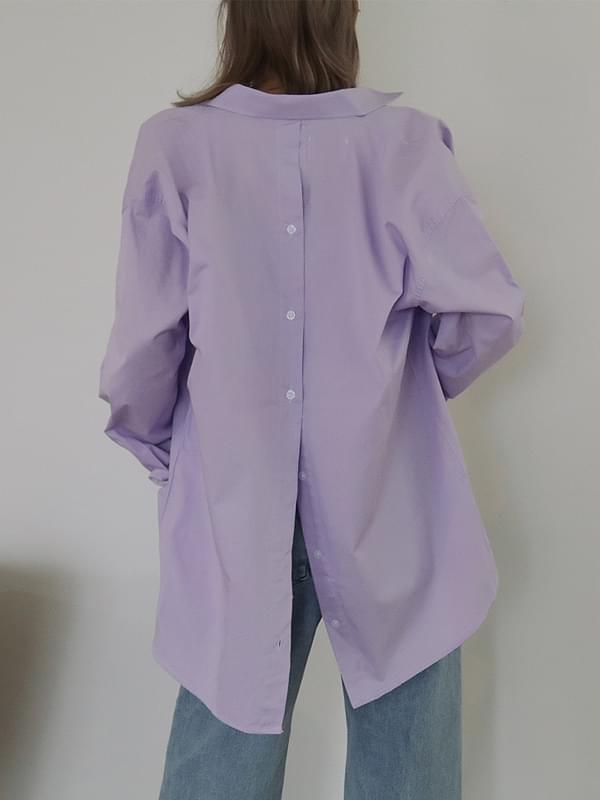 Back button unique shirt