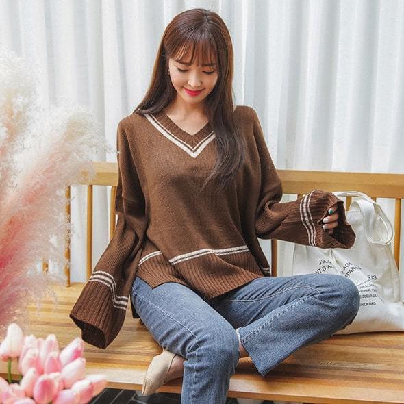 Lulu candy color knit