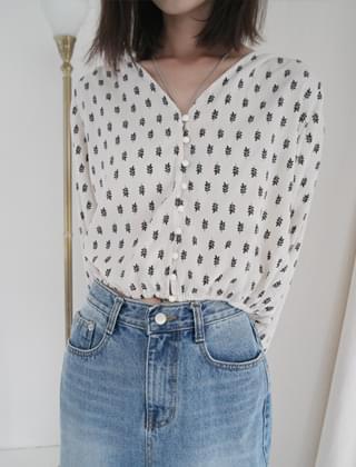 bohemian mood blouse (2colors)
