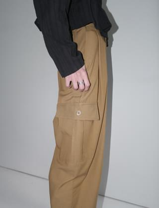 back banding cargo pants (3colors)