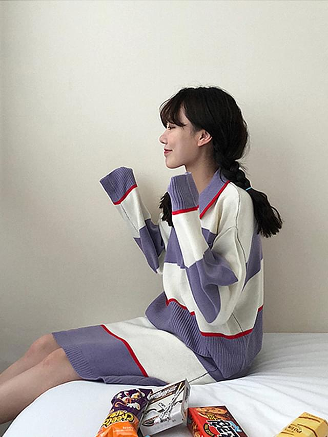 Color scheme Tangara knit two piece