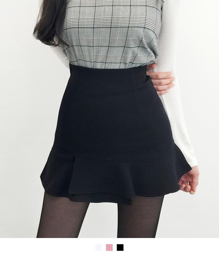 Perrin frill skirt