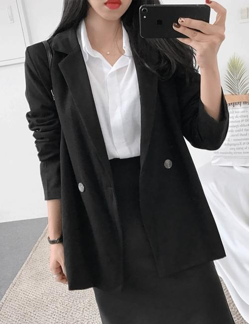 Keatu button cotton jacket