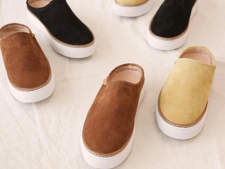 [SHOES] SUEDE SNEAKERS BLOAFER