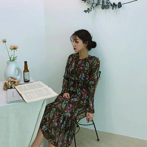 Serena - Chiffon Long Dress