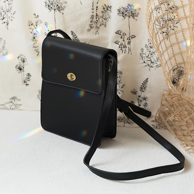 square shape buckle point bag