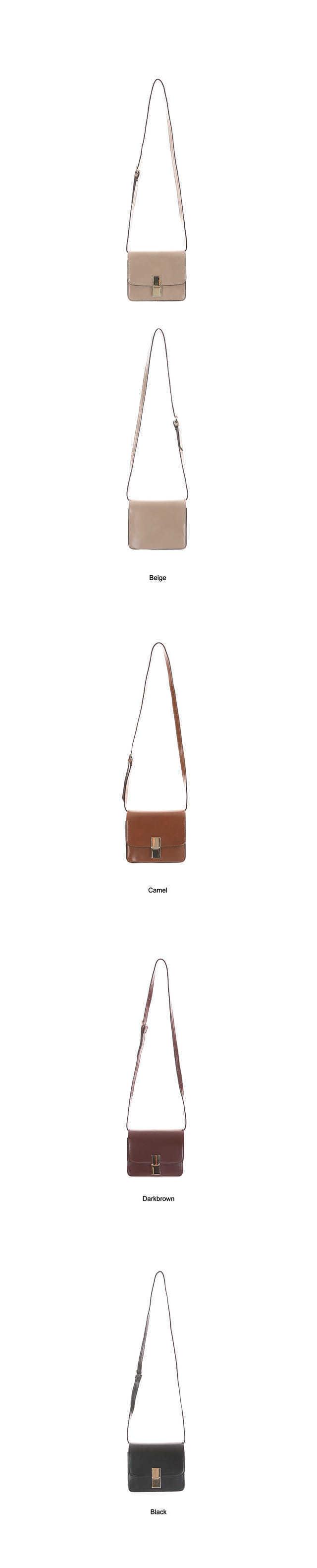 Firm Square Cross Bag