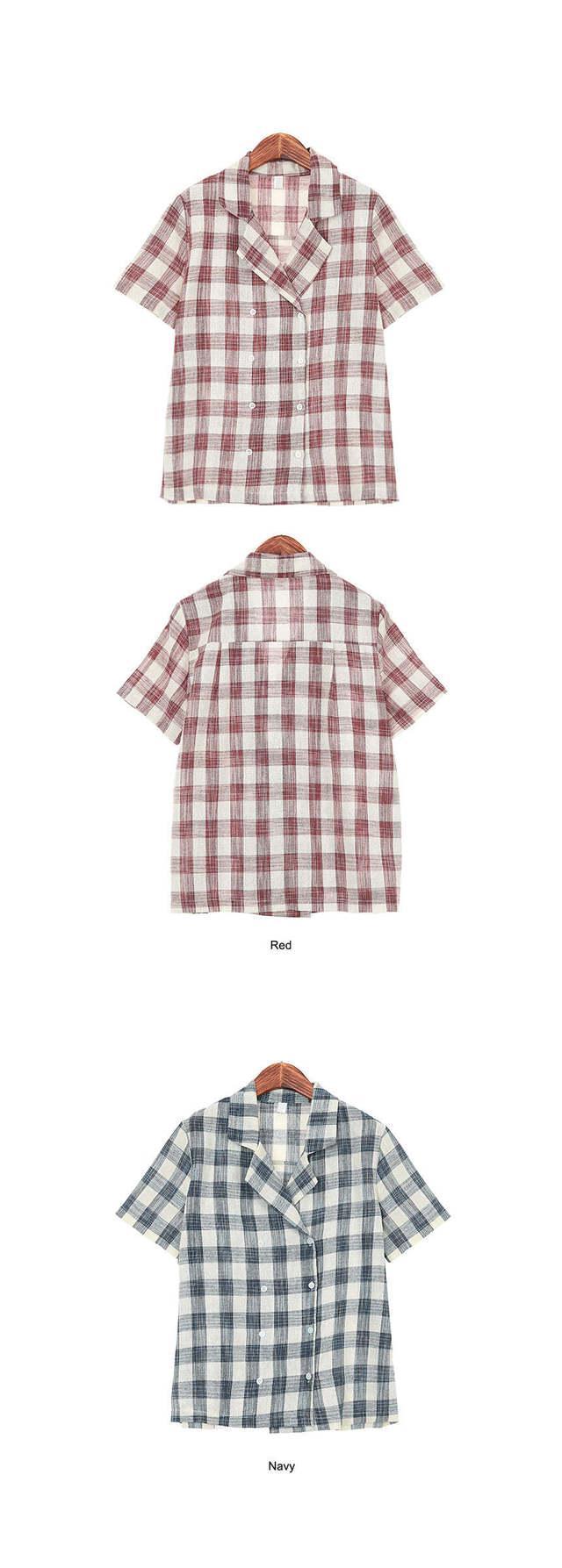 Lead Double Check Shirt