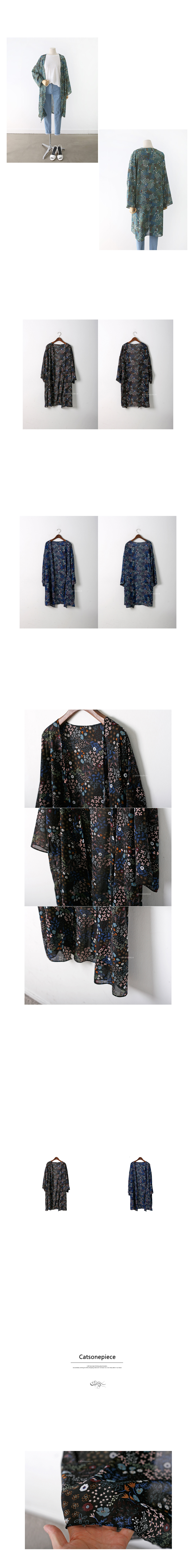 Flower Robe Cardigan