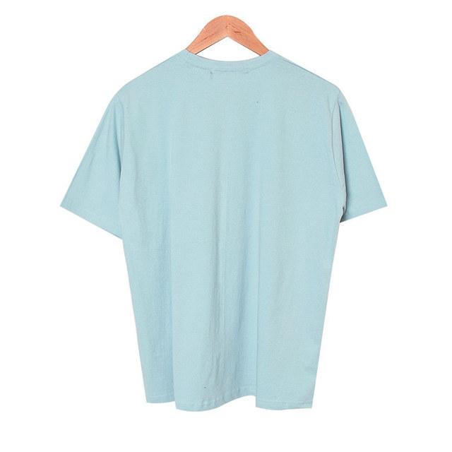 Gabiel Cotton Washing Short Sleeve Polo Shirt