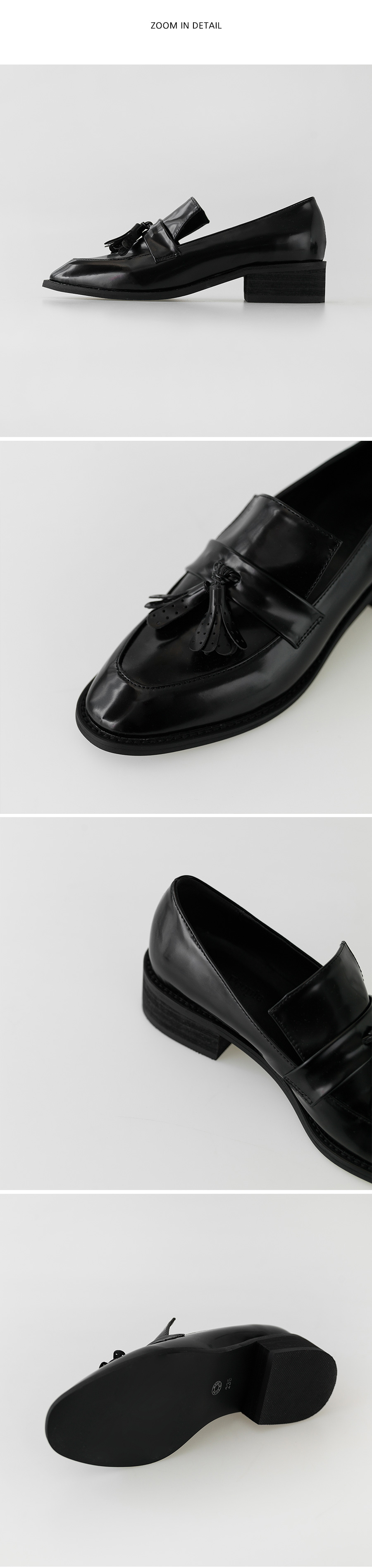 normal tassel loafer