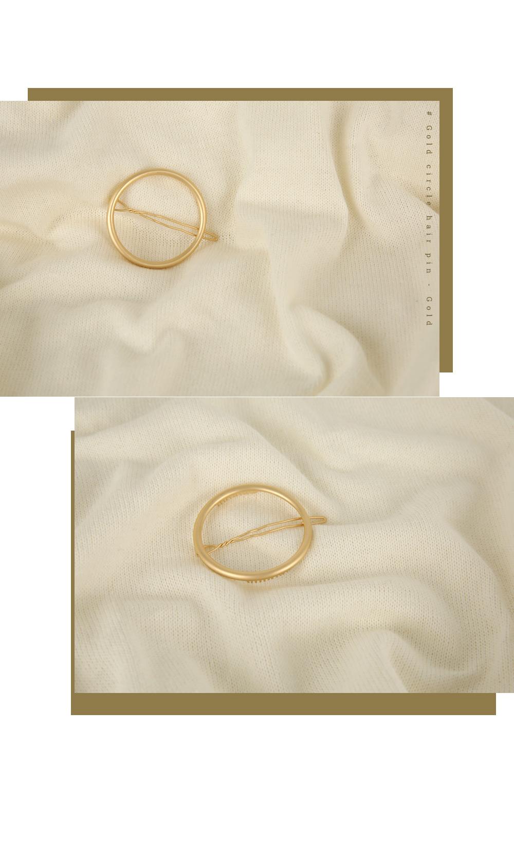 Gold Hairpin