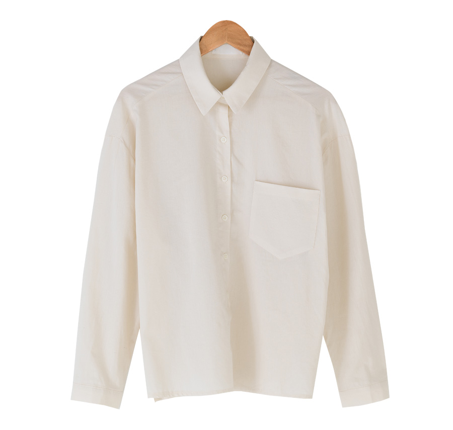 loose fit one pocket shirts