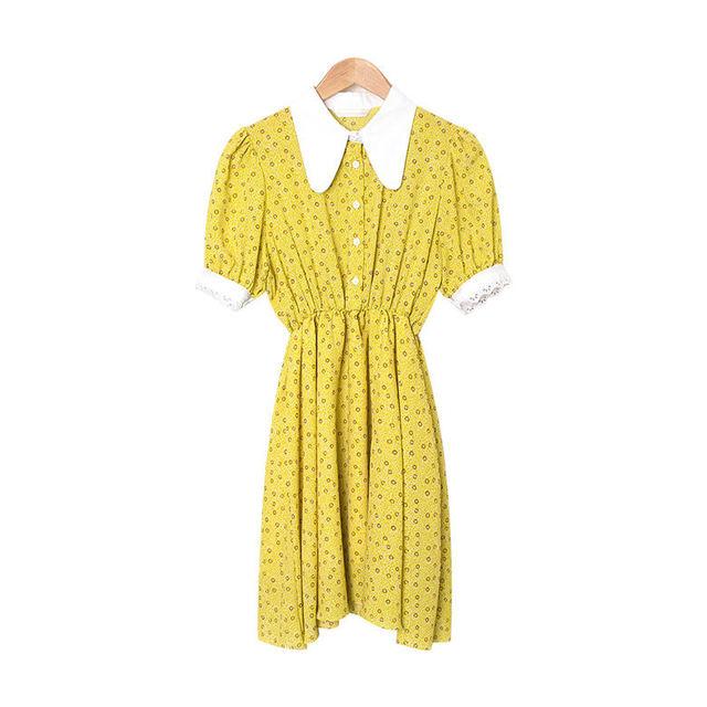 Serena Carla Shearing Flower Dress