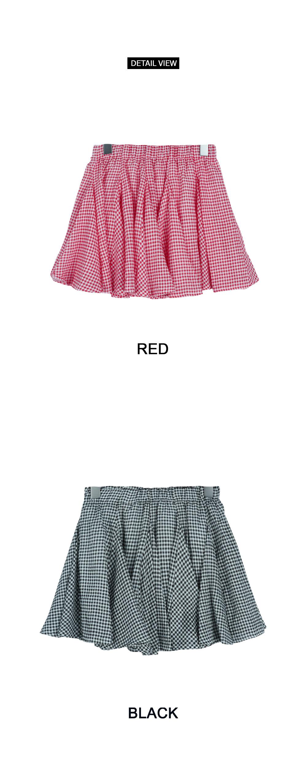 Cherry pleated skirt (sk1170)