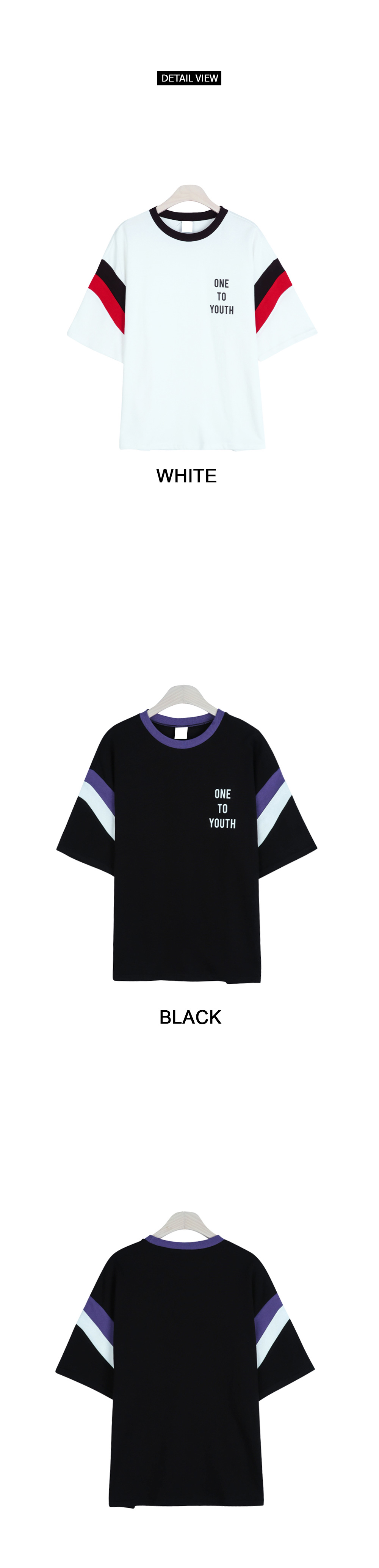 Youth color short sleeve shirt (t4640)